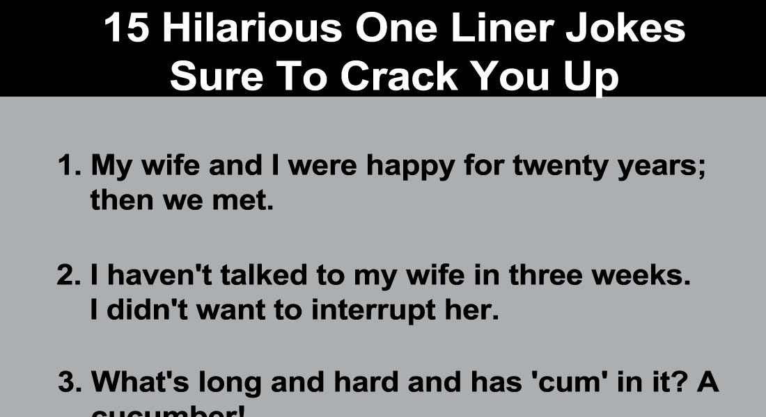 Hilarious one liner Puns