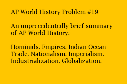 ap world history essay outline