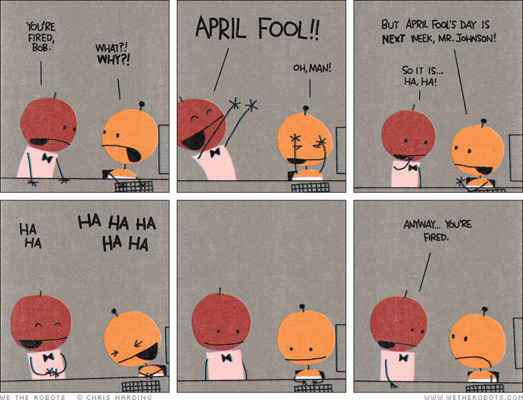 april fools day pranks Need inspiration for what pranks to do for april fools' day and want to take revenge in the office or on your husband or wife at home try these hilarious jokes.