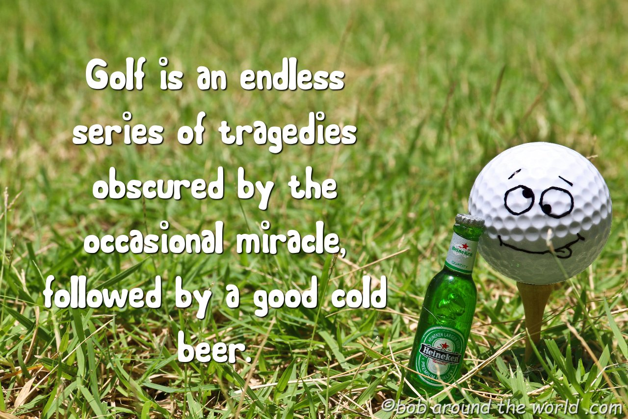 Funny golf Puns on