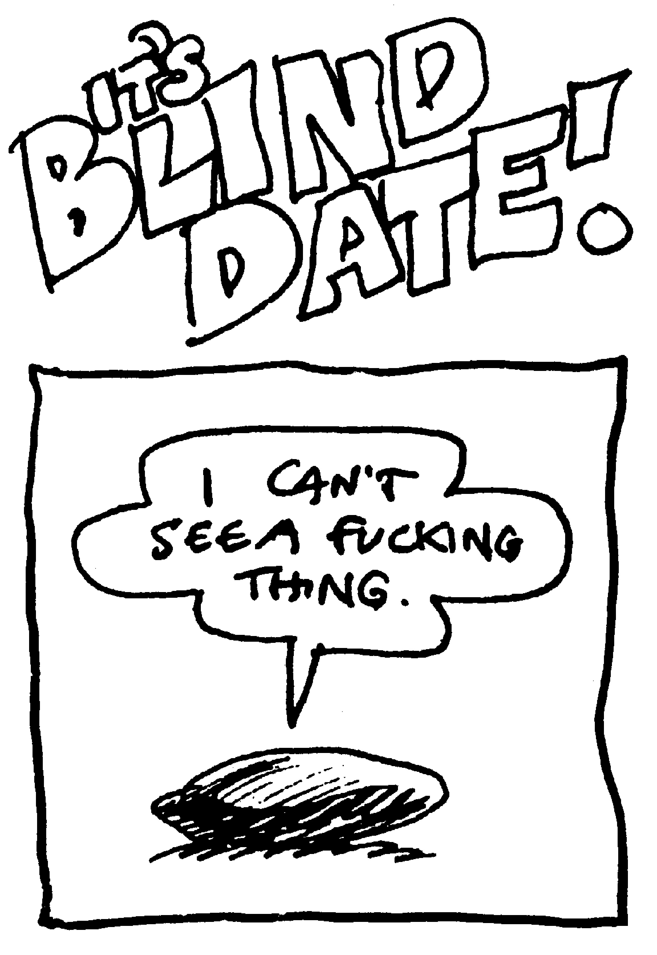 Blind dating funny one-liners