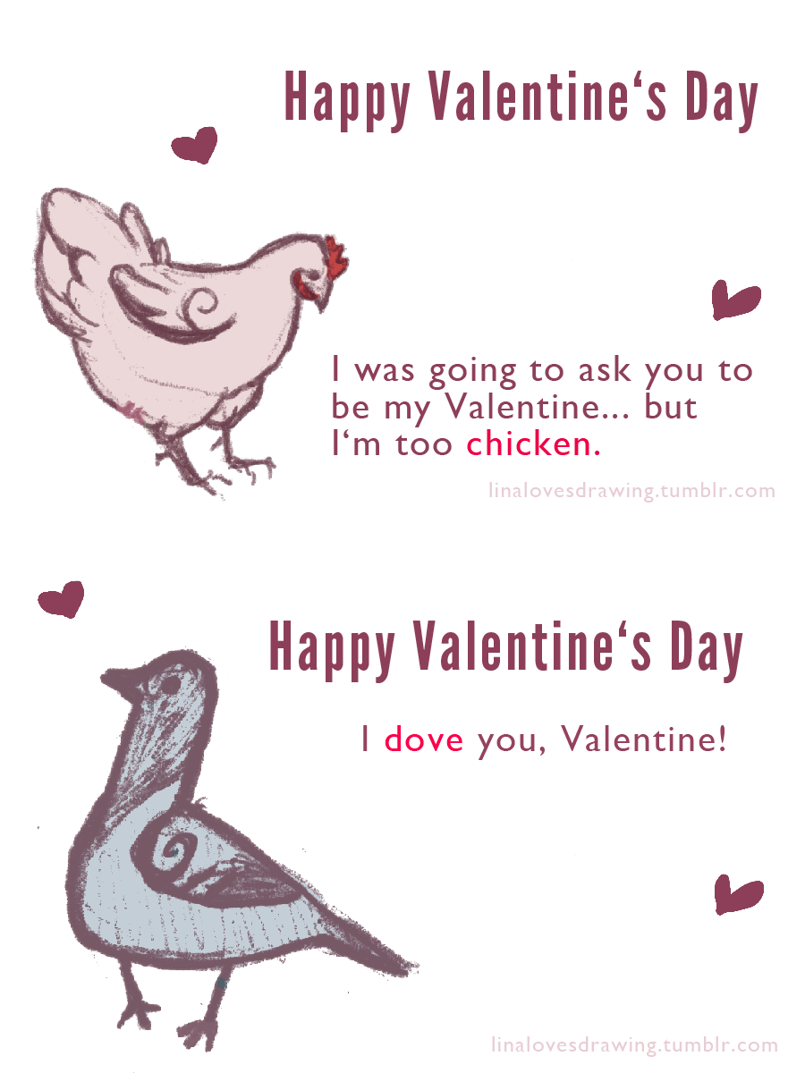 Valentines Day Card Puns