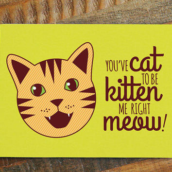 Funny Cat Mothers Day Cards