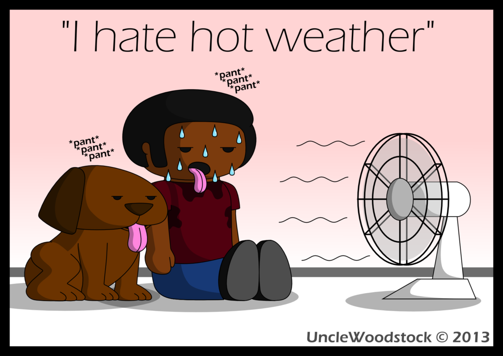Weather Bearable Cold Clipart Funny