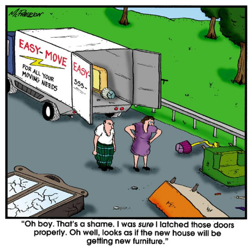 Moving Home Quotes Funny