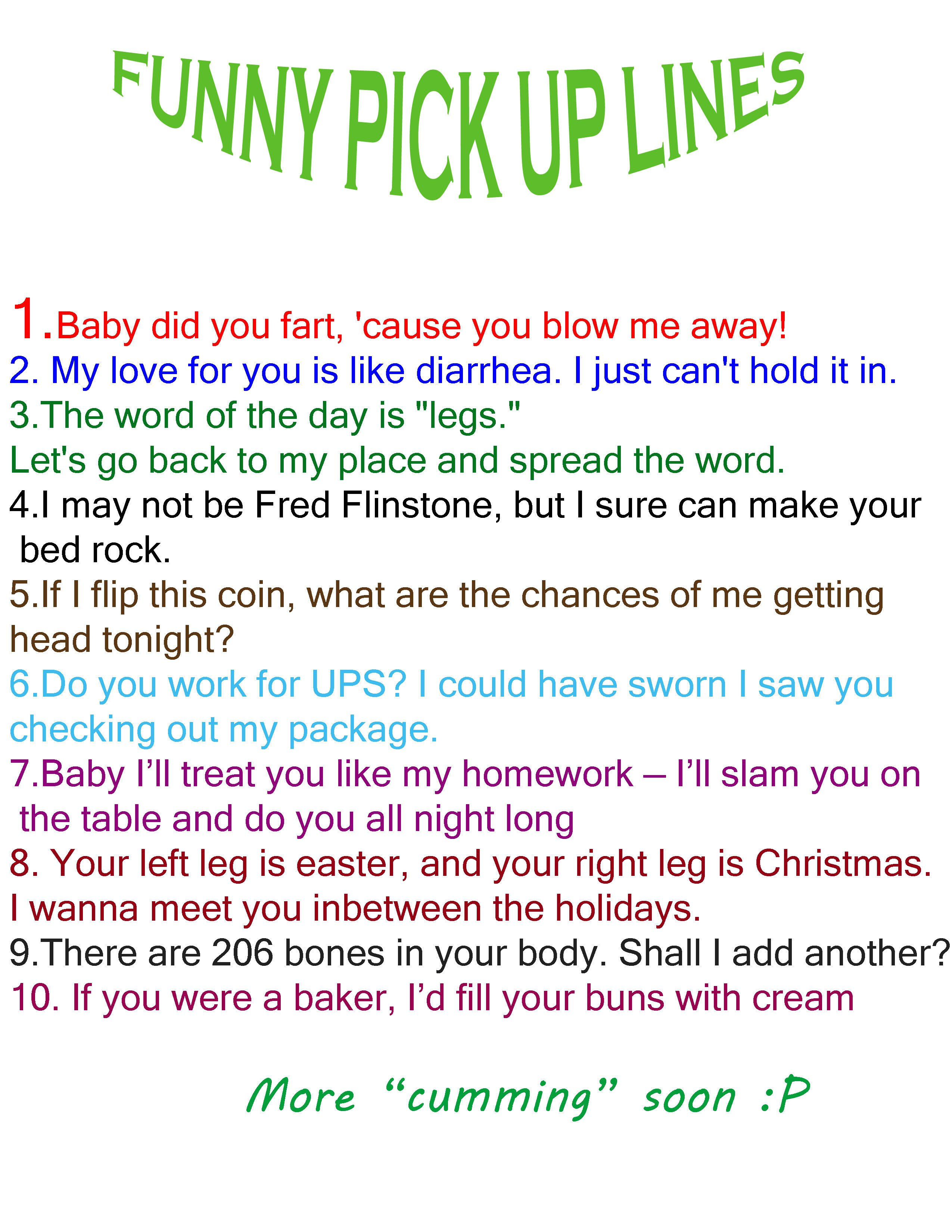 funny green pick up lines tagalog