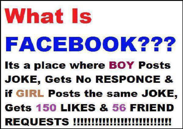 Jokes About Facebook With Beautiful Words