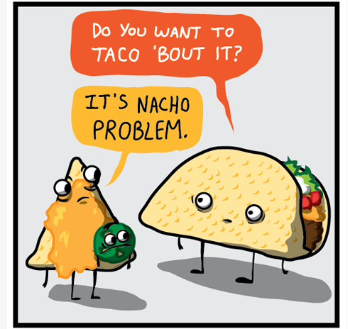 recipe: nacho puns [2]
