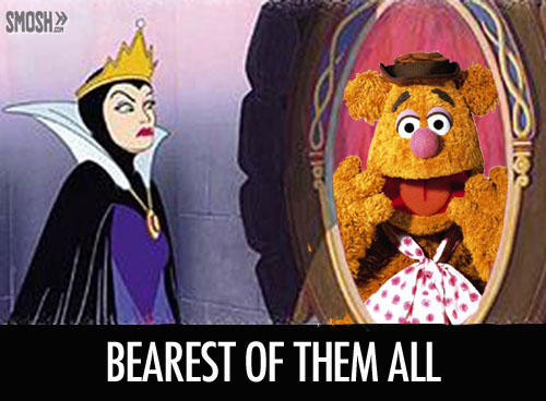 day s, white evil queen fozzie bear