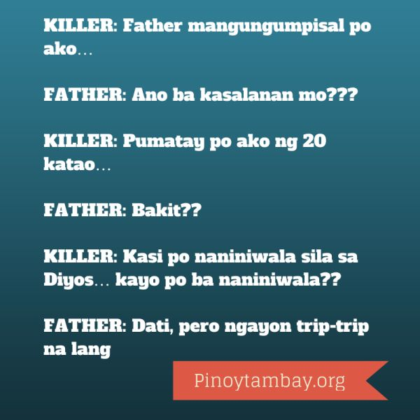 Comedy Quotes Tagalog Version: Filipino Puns